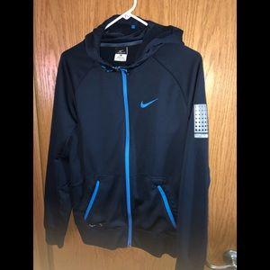 Men's size S Nike zipper basketball hoodie